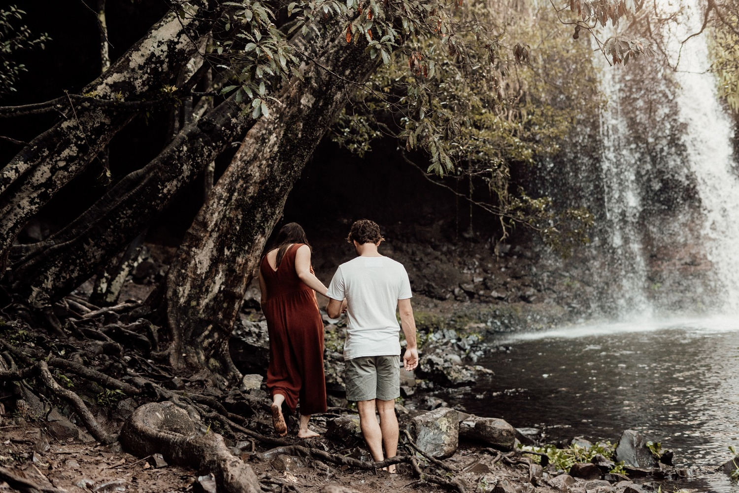 Byron Bay Waterfall Engagement
