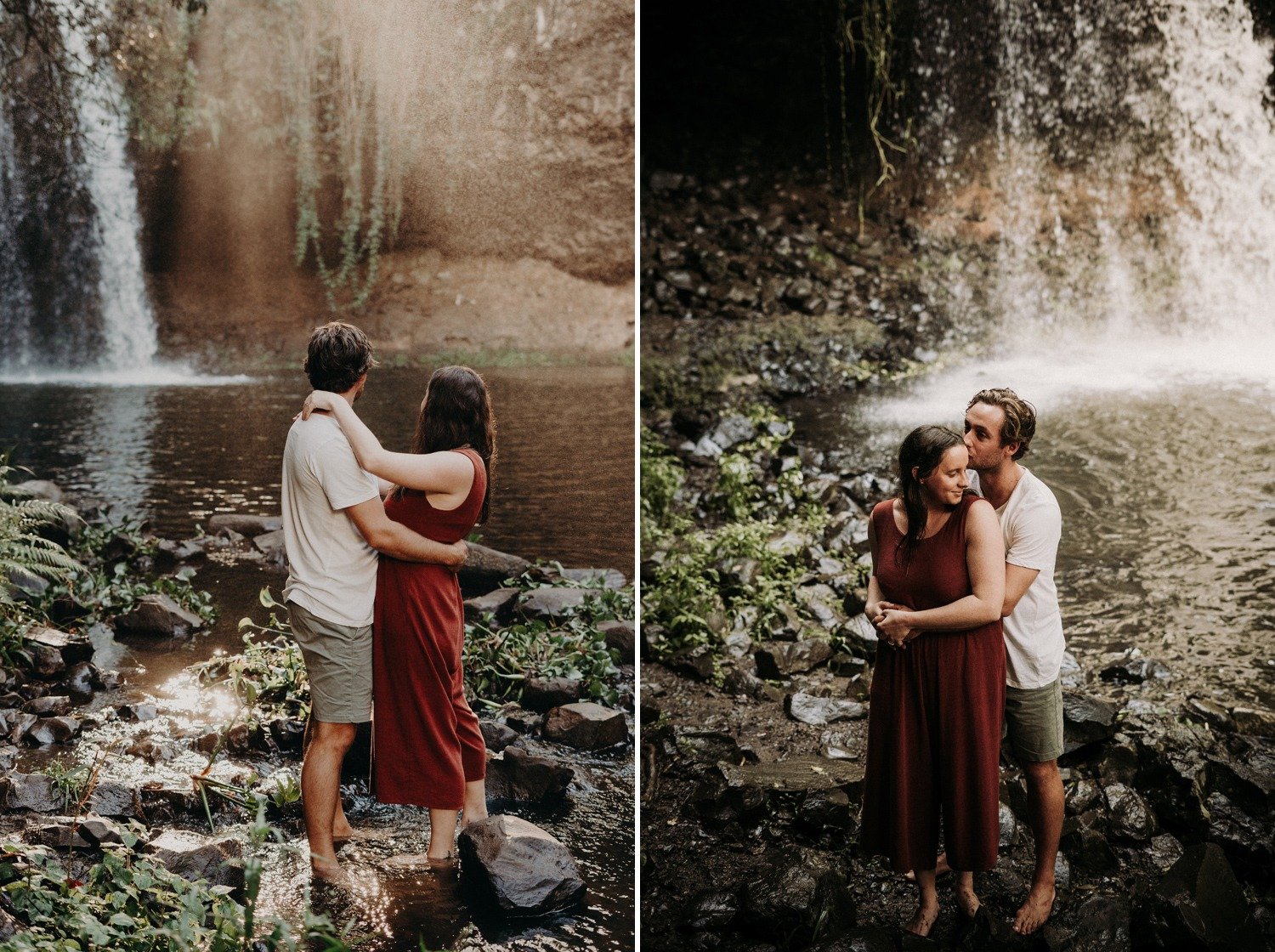 Killen Falls Engagement Session
