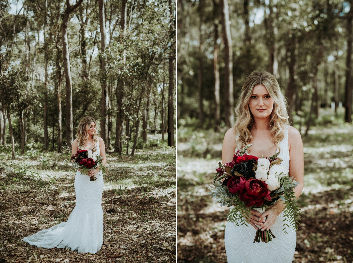 Byron Bay Wedding - Bride Portrait-01