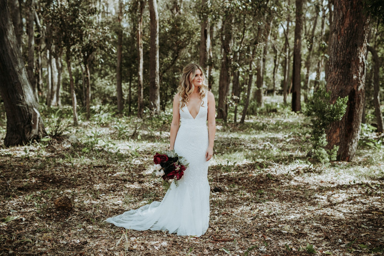 Byron Bay Wedding - Bride Portrait-02
