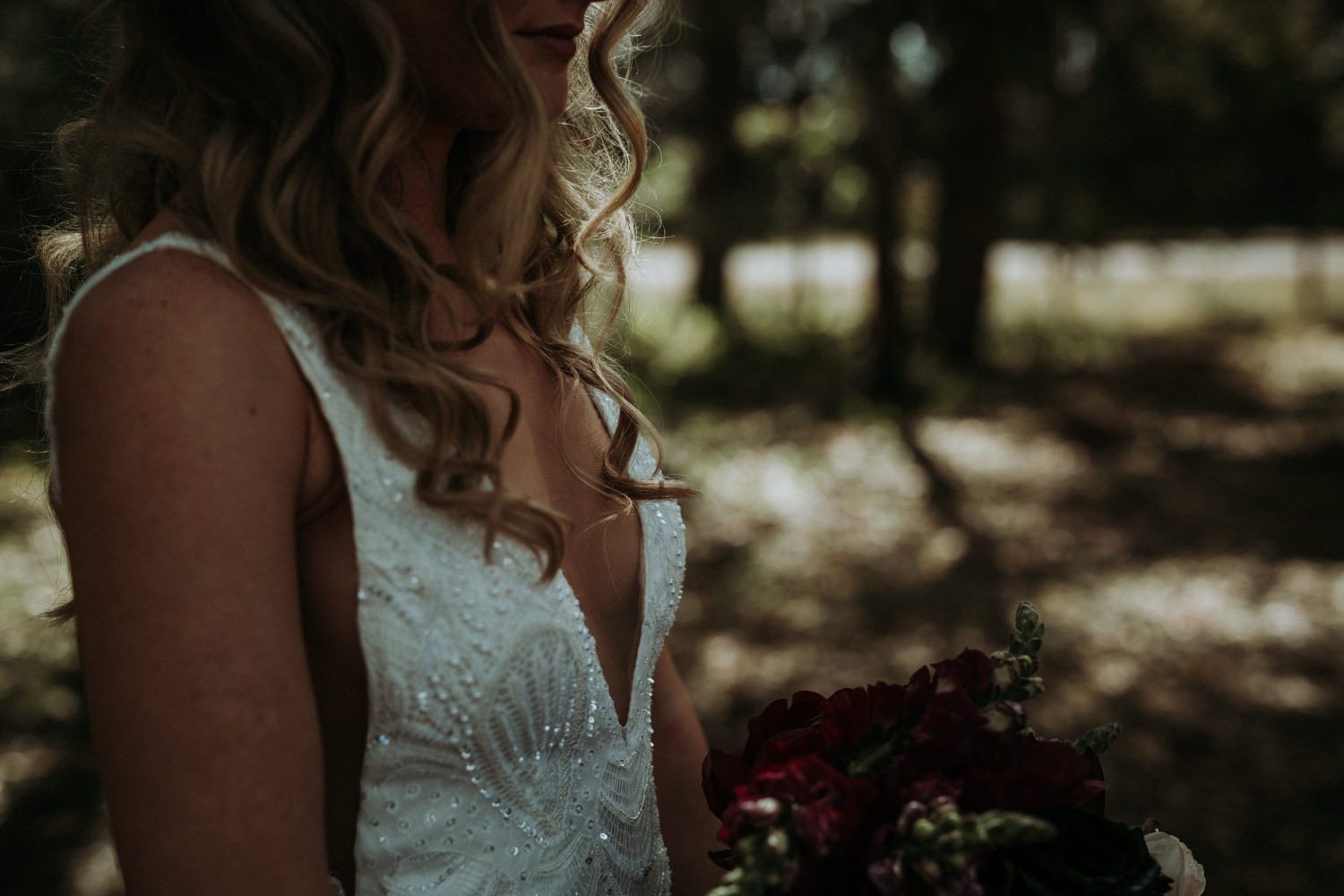 Byron Bay Wedding - Bride Portrait-04