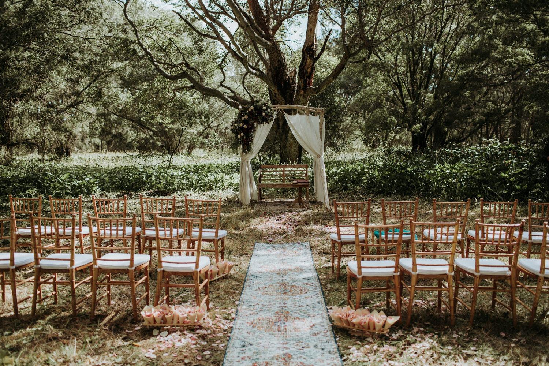 Byron Bay Wedding - Ceremony Details